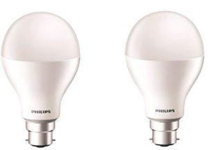 Philips 17-Watt LED Bulb (Pack of 2 Cool Day Light) Rs 320