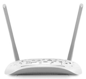 TP-LINK TD-W8961N 300Mbps fixed Antenna Wireless N ADSL2+ Modem Router Rs 1199