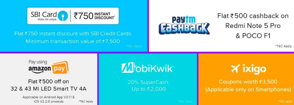 mi payment offers diwali with mi sale
