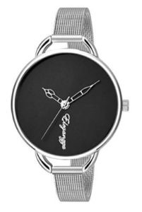 Eleganzza Analogue Black Dial Women's Watch