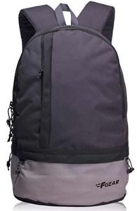 F Gear Burner GB 19 Ltrs Dark Grey Casual Backpack