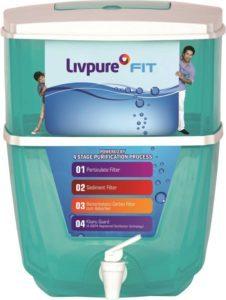 flipkart Livpure LIVPURE FIT 17 L Gravity Based Water Purifier