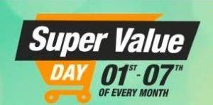 super value day sale amazon