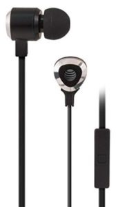 AT&T SEB50 Dual-Driver in-Ear Headphones with in-Line Microphone