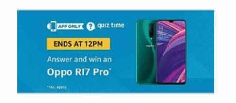 amazon-quiz-oppo-r17-pro