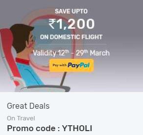 YTHOLI yatra flight offer
