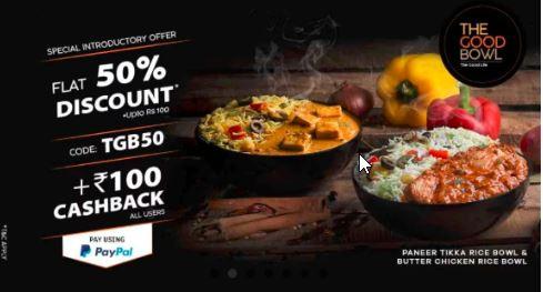Faasos bowl offer