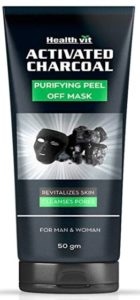 Healthvit Activated Charcoal Purifying Peel-Off Mask, 50g