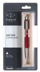 Parker Vector Standard Chrome Trim Ball Pen