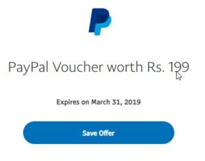 paypal holi offer page