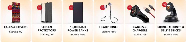 best selling mobile accessories Amazon Fab Phones Fest Sale
