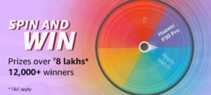 Amazon Summer Sale Spin And Win 2 May