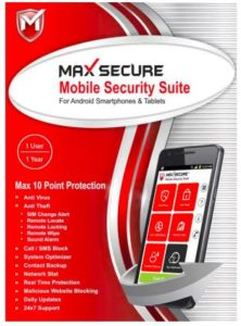 Max Secure 1 Smartphone 1 Year Mobile Security Offer