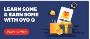 OYO Shake Earn Prizes