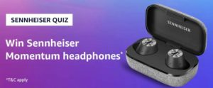 Amazon Sennheiser Quiz Answers Win Sennheiser Momentum Headphones