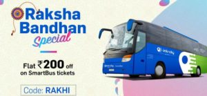 Railyatri flat Rs 200 off smartbus tickets