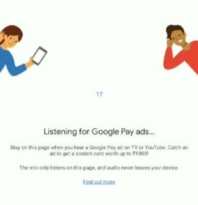 Google Pay On Air Listening