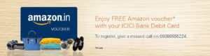 ICICI Free Amazon Voucher