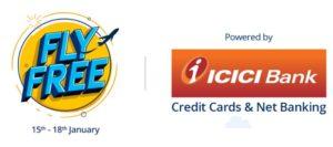 Paytm FLYFREE ICICI Bank