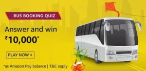 Amazon-Bus-Booking-Quiz-Answers