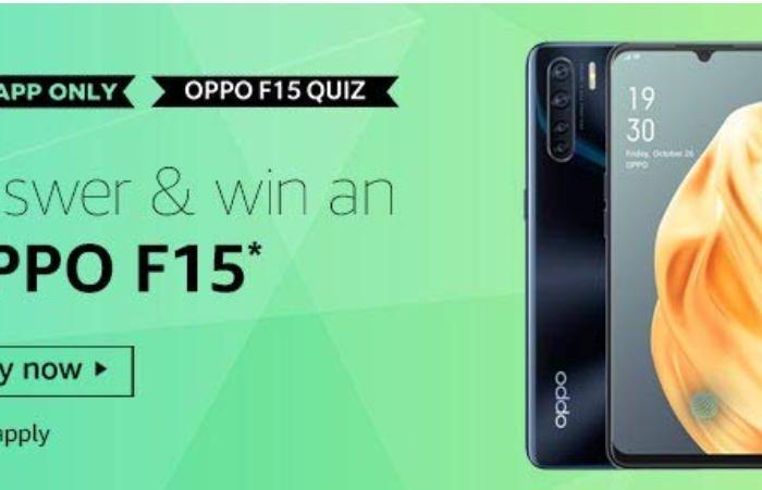 Amazon Oppo F15 Quiz