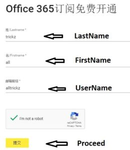 Office 365 Free form Fill