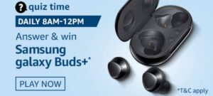 Amazon Samsung Galaxy Buds Quiz