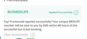 Paytm Bus Rs 500 Medlife Voucher