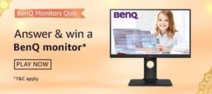 Amazon BenQ Monitors Quiz Answers