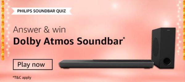 Amazon Philips Soundbar Quiz Answers