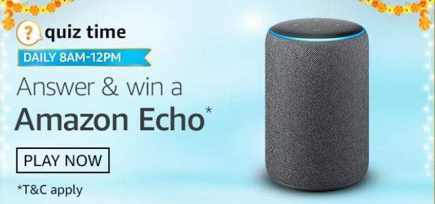 Amazon Quiz Answers Today Amazon Echo