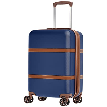 AmazonBasics Vienna Expandable Hardsided Cabin Trolley with Extreme Scratch Resistance - 51 cm AllTrickz.jpg