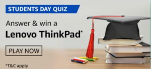 Amazon Students Day Quiz Answers