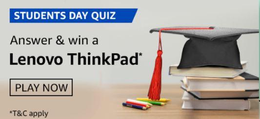Amazon Students Day Quiz Answers
