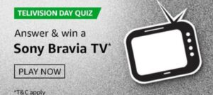 Amazon Telivision Day Quiz Answers