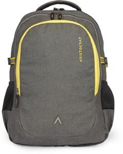 Aristocrat Grid 1 34 L Laptop Backpack(Grey) AllTrickz.jpg