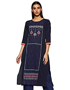 Avah Womens synthetic straight Kurti AllTrickz.jpg