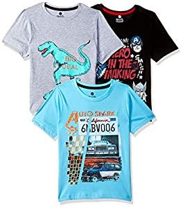 Cloth Theory Boys Plain Regular fit T Shirt (Pack of 3) AllTrickz.jpg
