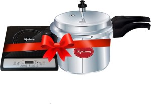 Lifelong LLCMB13 1400 W Induction Cooktop with IB 3 Ltr Outer Lid Pressure Cooker(Black AllTrickz.jpg