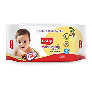 LuvLap Paraben Free Baby Wipes with Jojoba Oil (72 Wipes AllTrickz.jpg