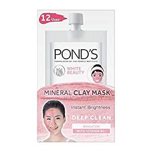 PONDS White Beauty Instant Brightness Vitamin B3+ Mineral Clay Mask 8g AllTrickz.jpg