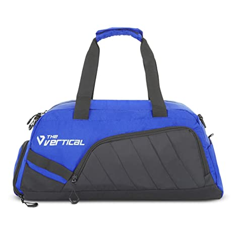 The Vertical Journey Polyester 56 cms Royal Blue Travel Duffle (8903496091304) AllTrickz.jpg