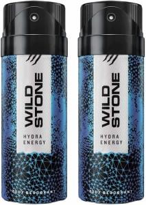 Wild Stone HYDRA ENERGY ( PACK OF 2) Deodorant Spray     For Men(150 ml AllTrickz.jpg
