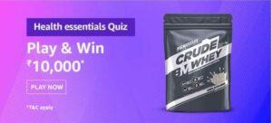 Amazon-Health-Essentials-Quiz-Answers