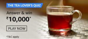 Amazon The Tea Lovers Quiz Answers