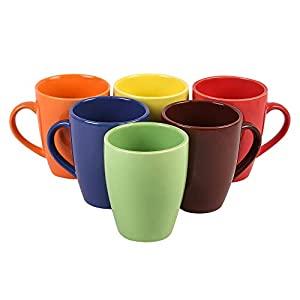 Anwaliya Fauna Series Ceramic Coffee Mugs   6 Pieces AllTrickz.jpg