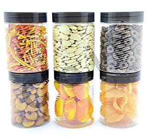 COIF 6 Pieces Airtight Plastic Kitchen Storage Container AllTrickz.jpg