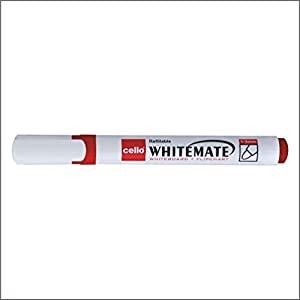 Cello Whitemate Whiteboard Marker   Pack of 100  Red  AllTrickz.jpg