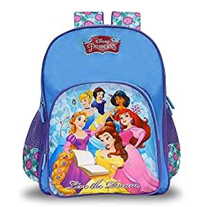 Disney Princess 20 Ltrs Blue School Backpack  MBE WDP1311  AllTrickz.jpg