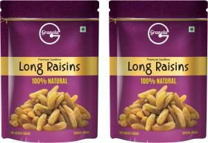 Granola 100% Natural Long Raisins 2 x 500 g  AllTrickz.jpg